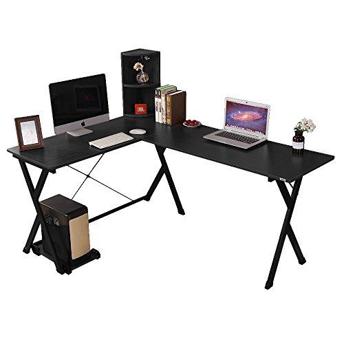 good Soges Bureau d\'Angle Ordinateur Bureau Informatique Table ...