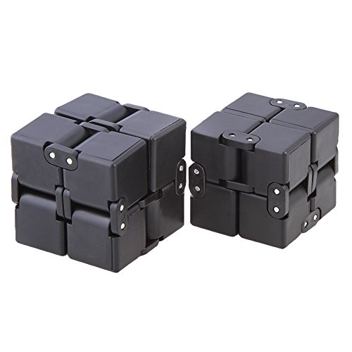 FIDGET DICE Magic Infinity Flip Cube Square Shaped Release Stress Toy for Anxiety Relief and Autism Adult and Kids