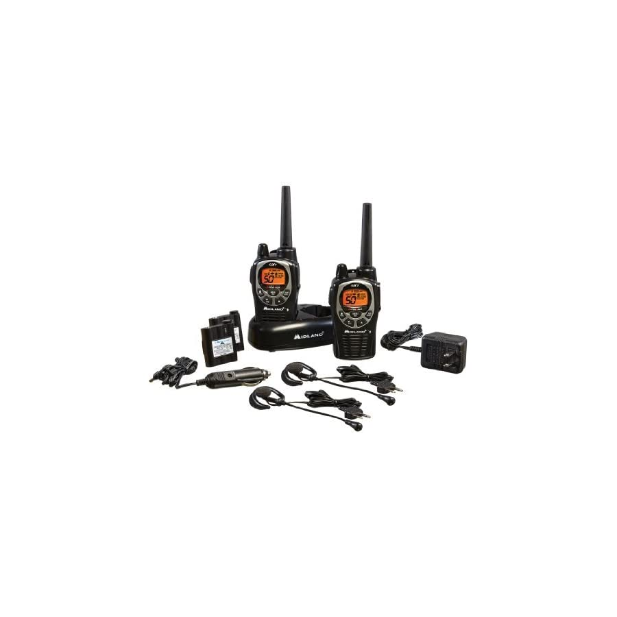 Midland GXT 36 Mile 50 Channel FRS/GMRS Two Way Series
