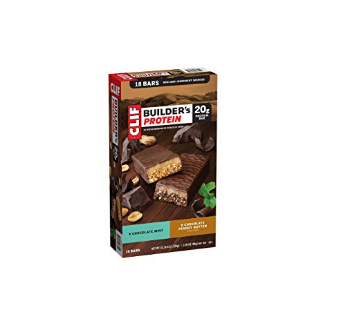 Clif Builder's Protein Bar Variety Pack, 18 pk./2.4 oz.ES