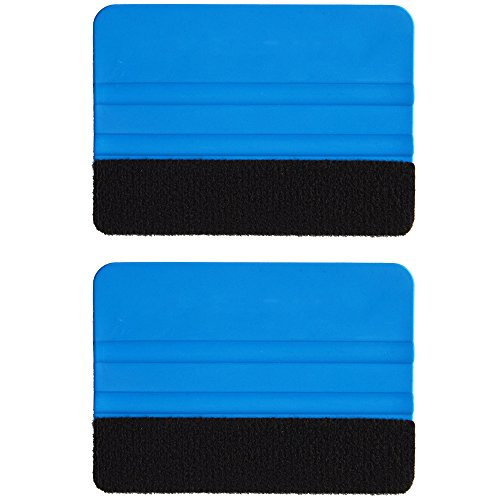Ehdis 174 2pcs High Quality Felt Edge Squeegee 4 Inch For