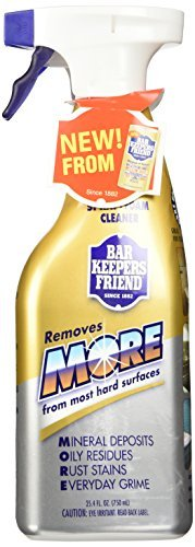 (2 Pack) Bar Keepers Friend NEW trigger Spray + Foam Clea...
