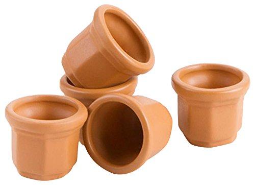 DARICE 161533 Mini Clay POTS .87IN 5PC -