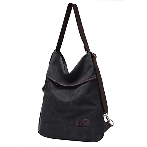 Kaishek Shopper Body Tote Vintage black Handle B017a Cross Top Handbag Canvas Bag Women's Shoulder Ksk ZWTHdqZ