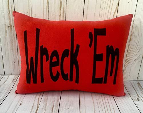 - MurielJerome Texas Tech Wreck Em Pillowcase