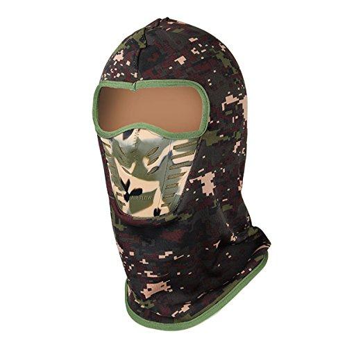 camouflage unisex balaclavas warm winter cheek neck cs hat