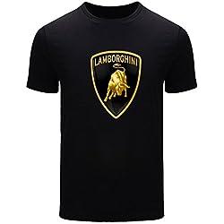 Lamborghini For 2016 Mens Printed Short Sleeve tops t shirts