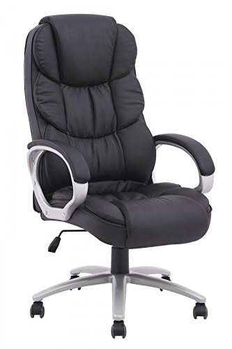 BestOffice Ergonomic PU Leather High Back Office Chair, Black - Back Executive Office Chair