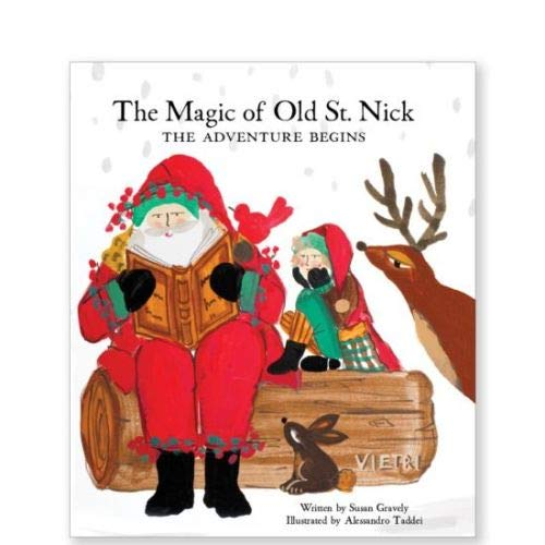 (Vietri The Magic of Old St. Nick: The Adventure Begins - The Charming Tale of Italy's Sana Clause)