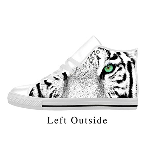 Modèle nbsp;eu Femme Chaussures Sneaker Tigre Pretty Blanc Jiuduidodo 40 zUq751w