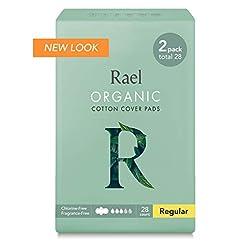 Rael Certified Organic Cotton Menstrual ...