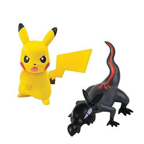 Pokémon Action Pose Figures, Pikachu Vs Salandit