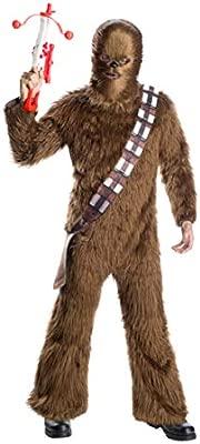 Horror-Shop Traje De Piel Chewbacca para Adultos One Size ...