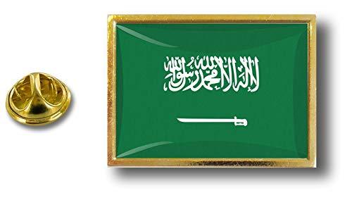 Akacha Spilla Pin pin's Spille spilletta Bandiera Distintivo Badge Arabia Saudita P E1 008 Arabie saoudite