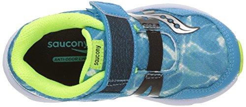 Saucony Kids Baby Ride Pro Running Shoe Ocean Wave Blue