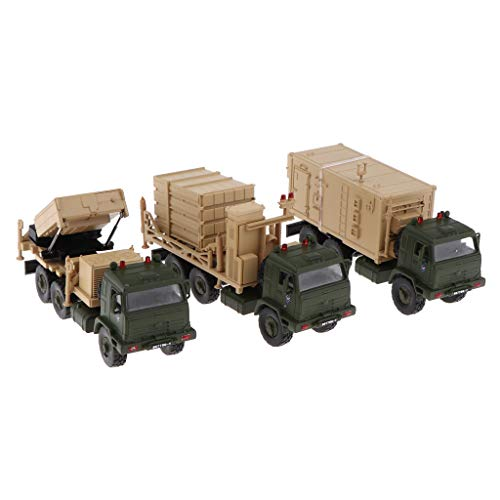 (Flameer 1/72 Battlefield Iron Dome Anti Missile Defense Missile Radar Vehicle Model)