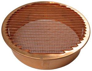 Round Copper Vent 8 5 8 Quot 200mm Diameter Soffit Vents