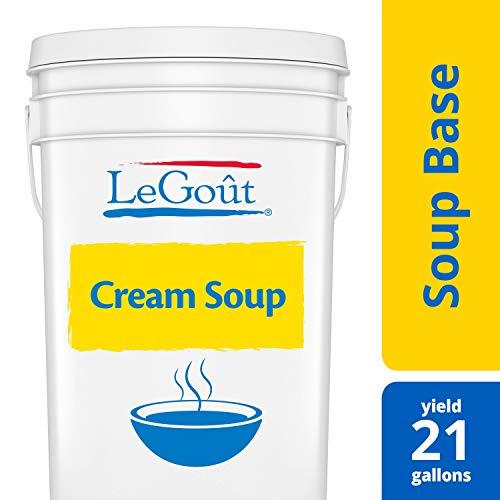 LeGout Bases/Bouillions Cream Soup Base, Gluten Free, 22.5 lb - Cream Soup Base