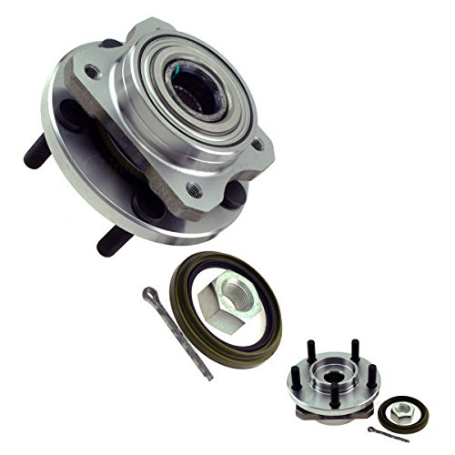 inMotion Parts Front Wheel Bearing Hub Assembly IMP513074 for Chrysler Town & Country; Dodge Caravan, Grand Caravan; Plymouth Grand Voyager, Voyager, replace 513074, 2 pack (Voyager Front Hub Plymouth)
