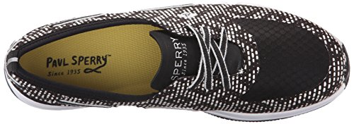 Top Scarpe Black sider Stringate white Sperry Donna dRxpZpn