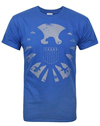 Avengers Marvel Herren T-Shirt blau blau