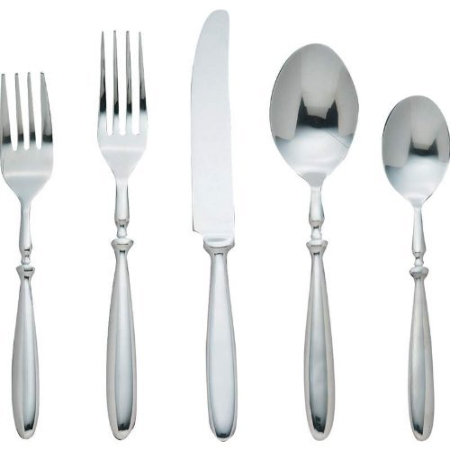 - B&F FW20 20 Piece A Set Of Nikita Bistro Forged Stainless Steel Flatware