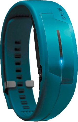Epson PULSENSE PS-100 Heart Rate Monitor with Activity Tracking for iOS- Turquoise M/L by Epson