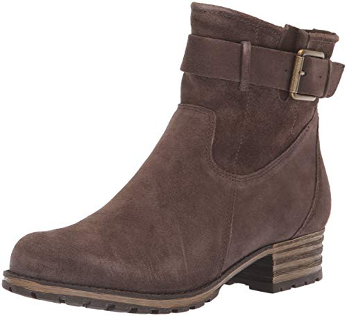 Clarks Suede Boots - CLARKS Women's Marana Amber Fashion Boot, Taupe Suede, 080 M US