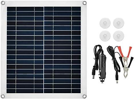 Taidda- Flexibles polykristallines Solarpanel, 25W Neues Flexibles polykristallines Solarpanel-Ladegerät im Freien wasserdicht