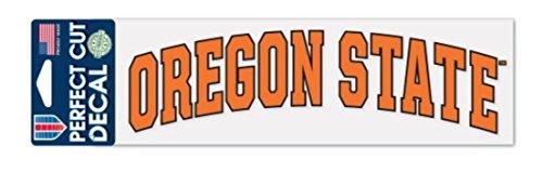 NCAA Oregon State Beavers 3 x 10 inch Perfect Cut Decal