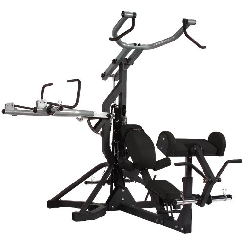 Body Solid SBL460 PowerLift Freeweight Leverage Gym by Body-Solid