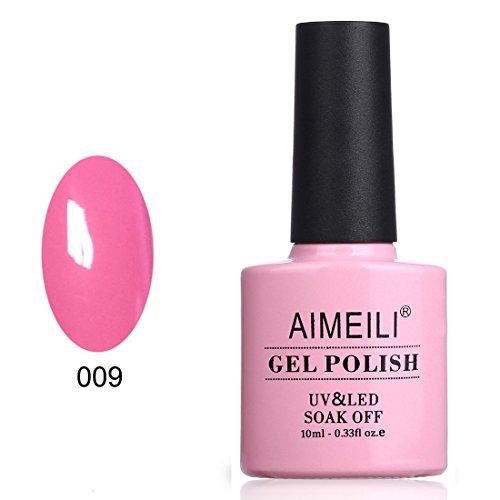 AIMEILI Soak Off UV LED Gel Nail Polish - Pertty Pretty in P