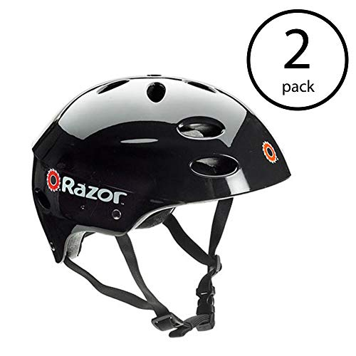 Razor V17 Youth Skateboard Scooter Bike Sport Helmet, Glossy