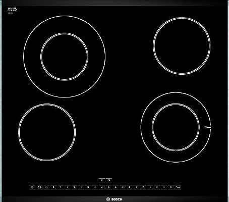 Bosch PKG675N24E hobs Integrado Cerámico Negro - Placa ...