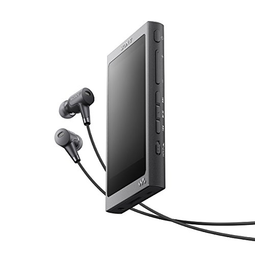Walkman NW A37HN headphones included charcoal