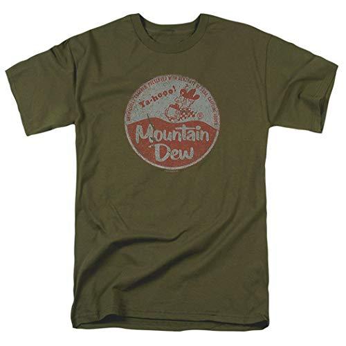 Mountain Dew Vintage Cap T Shirt & Exclusive Stickers (Large)