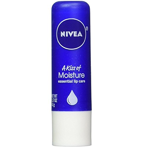 Nivea a Kiss of Moisture Essential Lip Care, 0.17-Ounce Sticks (Pack of 12)