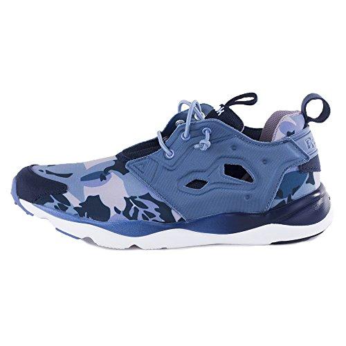 Reebok Classic Furylite Candy Girl Schuhe Damen Sneaker Turnschuhe Blau  V68792 Weiß-Blau-Dunkelblau f83033ba47