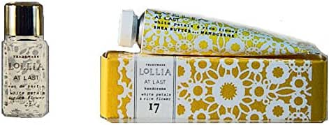 Lollia At Last Petite Treat Handcreme and Little Luxe Eau de Parfum Travel Set
