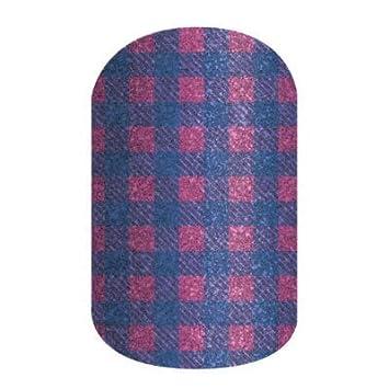 Amazon com: Jamberry Nail Wraps - Gridlines - Full Sheet