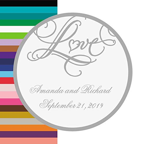 Personalized Wedding Seals - Personalized Love Wedding Favor Stickers - Invitations & Stationery & Favor Stickers & Seals