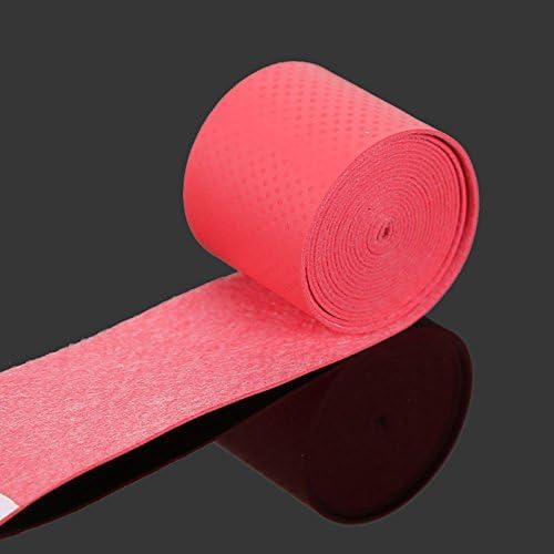 Jennles 60pcs Sweatbands Tape for Fishing Rods Badminton Grips Slingshot Tennis Racket Dumbbell