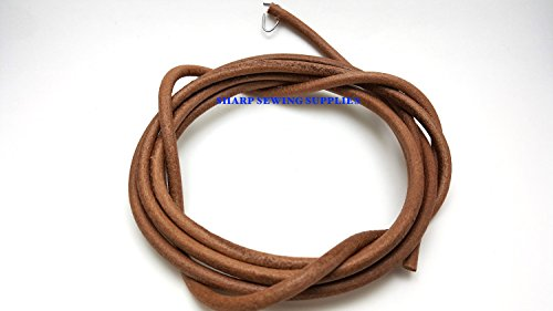 "72"" Leather Belt SINGER Treadle Sewing Machine ~ 3/16"" (5mm)"