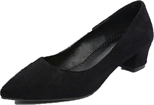 Fashion HeelHeels - Sandalias con cuña mujer negro