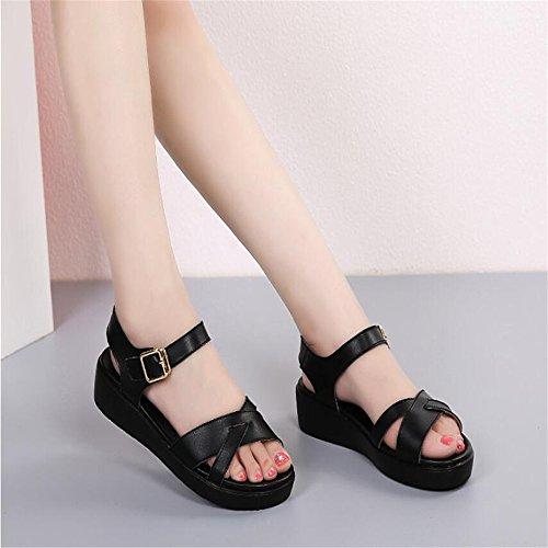 XZGC Zapatos de tacón Mujer negro
