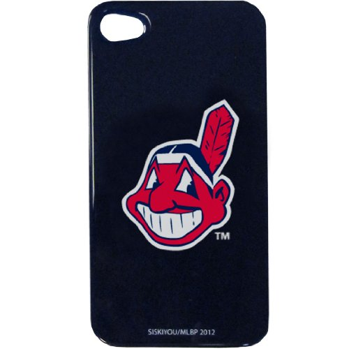 MLB Cleveland Indians iPhone 4G Faceplate (Cleveland Indians Iphone 4s Case)