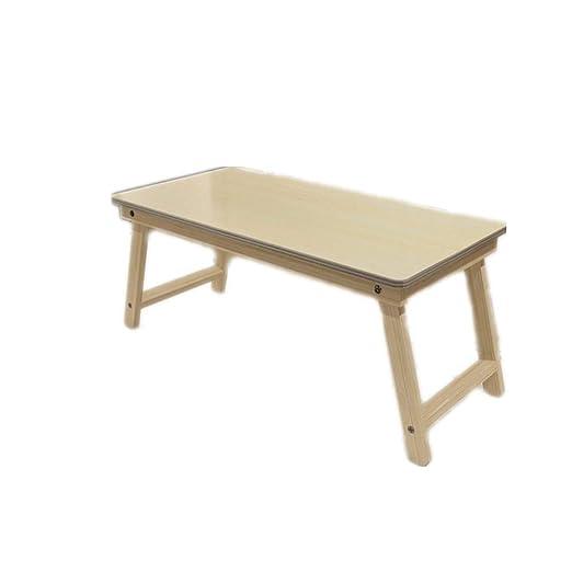 Mesa plegable Portátil plegable de bambú escritorio del ordenador ...