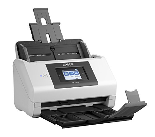 Epson DS-780N Network Color Document Scanner for PC and Mac, 100-page Auto Document Feeder (ADF), Duplex Scanning by Epson