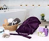 NY Threads Women Fleece Hooded Bathrobe - Plush