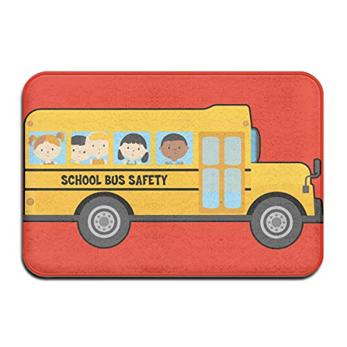 (QLZX3YY School Bus Drivers Needed Indoor/Outdoor Door Mat for Home Furnishings Kitchen Decor Rug Etc 15.75